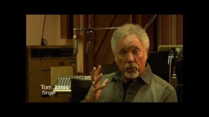 Tom Jones in the studio with Ethan Johns
