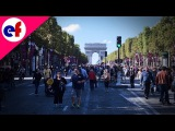Streets of Paris Avenue des Champs Elysees Explore France