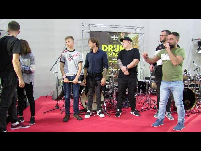 NAMM Musik Messe Russia 2017 - Drummers United 2017 - Награждение : Даниил Варфоломеев 3-е место