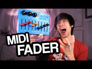3D Print Arduino MIDI Controller (USB Fader/Mixer)