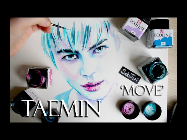 TAEMIN 태민 'MOVE' Speed Drawing by SakuTori