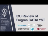 ICO Review of  Enigma Catalyst ($ENG) Decentralized quant-trading platform