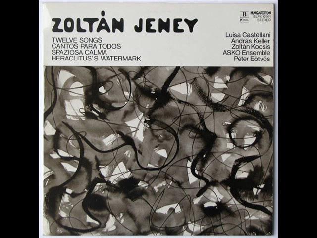 Zoltan Jeney - Landscape ad Hoc (1980)