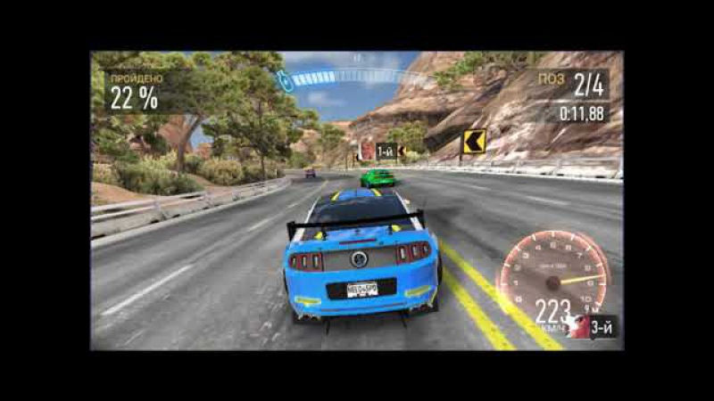 Need for Speed.FASTLANE.день 3 mobile gaming