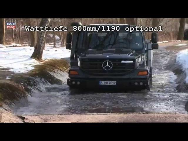 Onlinemotor Mercedes Benz Zetros 1833 4x4 und 2733 6x6 Offroadtest
