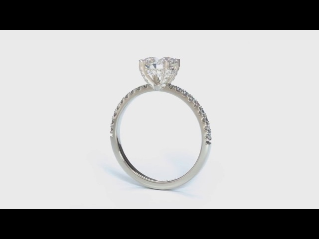1 Carat Diamond Ring - Custom Engagement Rings
