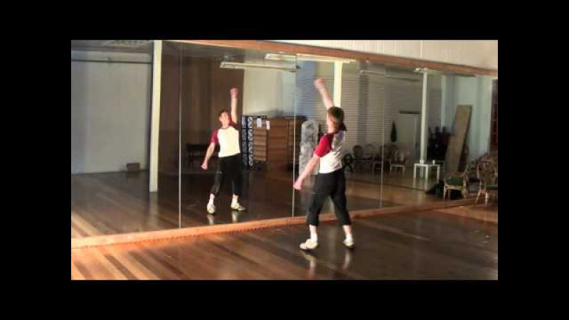 Michael Jackson Thriller Dance Tutorial 4/4 (With Music Full Speed)
