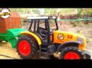 Мультик про трактор для детей Машинки для мальчиков Мультики игрушки для детей ...