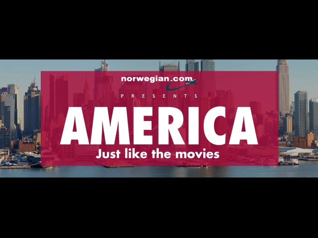 America. Just Like The Movies.