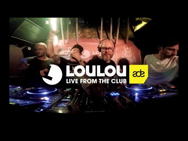 Kolombo, LouLou Players, Sharam Jey Mason B2B @ Amsterdam Dance Event 2017, De Club Up