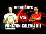 Jan-Lennard Struff vs Pablo Cuevas WINSTON-SALEM 2017 Highlights
