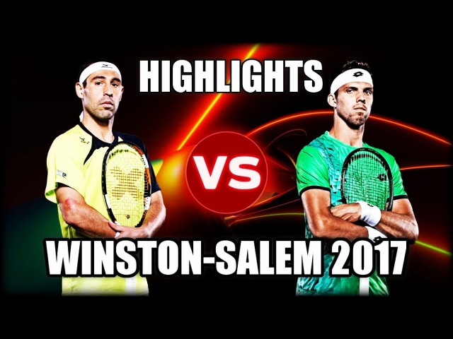 Marcos Baghdatis vs Jiri Vesely WINSTON-SALEM 2017 Highlights