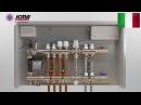 Инструкция по сборке коллекторов теплого пола и радиаторного отопления ICMA