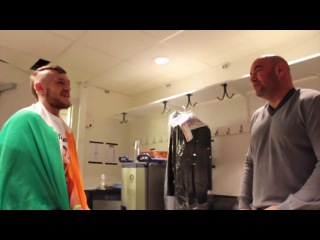 The First Time Dana White Met Conor McGregor