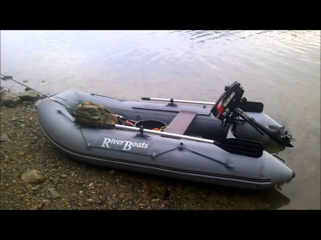 Pike Fishing / Russian Inflatable Riverboats/Hauen kalastusta