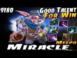 Miracle- Meepo Good Talent For Win - Dota 2
