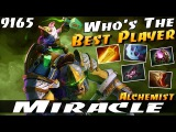 Miracle- Alchemist Who's The Best Player - Dota 2