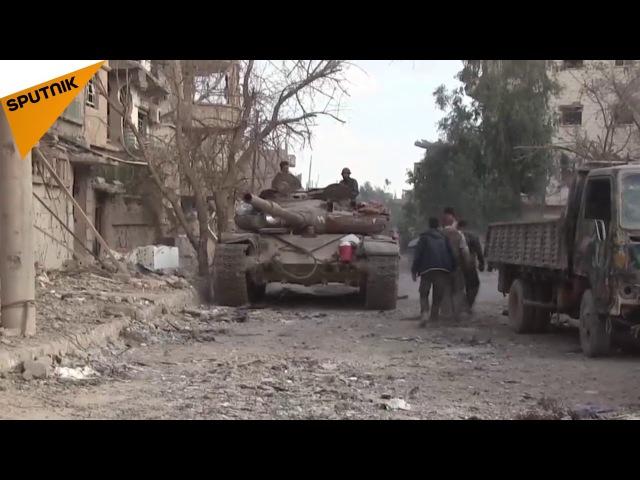 Сирийская армия полностью освобождает Дейр аль Цур от террористов Даиша