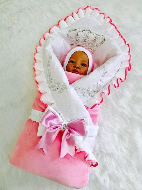 Конверт на выписку для новорожденных цена омск