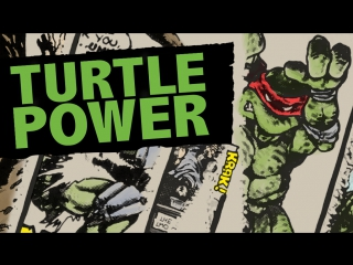 Сила черепашек / Turtle Power: The Definitive History of the Teenage Mutant Ninja Turtles / 2014 / Рэндалл Лобб