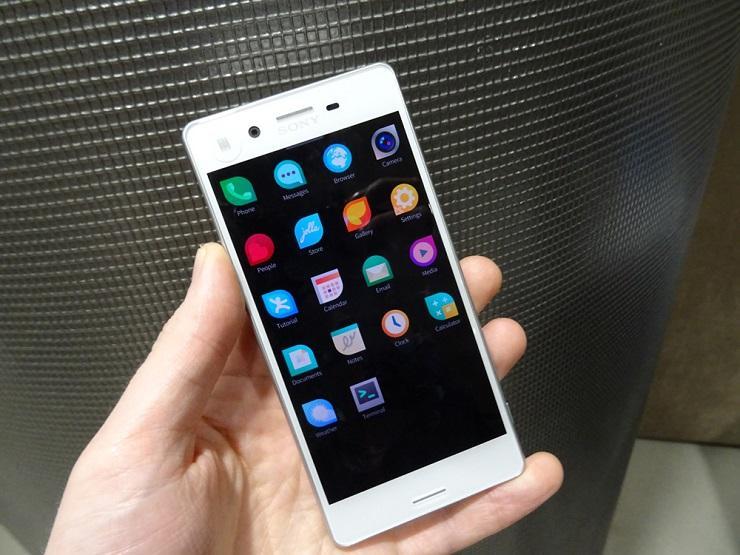 Sony Xperia X первый смартфон с официальной поддержкой Sailfish OS