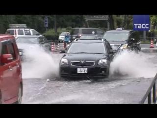 Как Япония перенесла удар тайфуна 'Лан'
