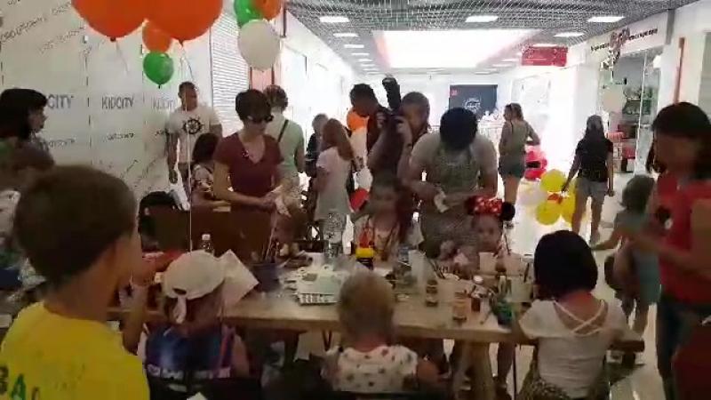 Творческие мастерские / открытие Снегирь ТЦ / Иркутск / Университетский