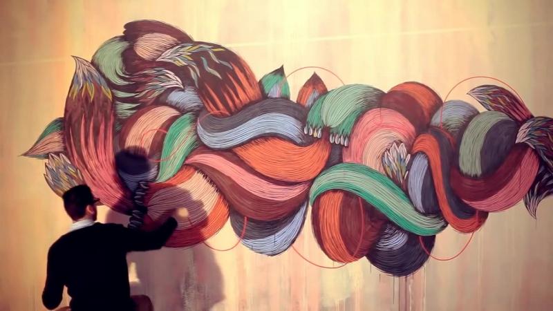 Supakitch and Koralie - Metroplastique Нереально круто рисуют | Art блог
