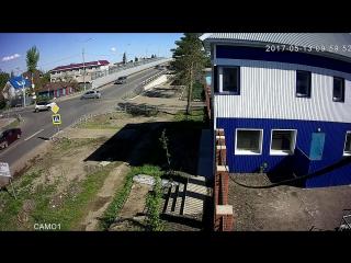 авария Хонда-Витц 13.05.17
