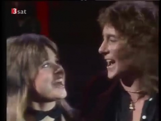 Suzi quatro  chris norman. 70s classic. stumblin in.  hq