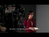 Бэтмен против Супермена: На заре справедливости / Чудо-Женщина на съемках фильма