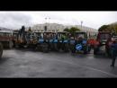БТР и танки нашей коммуналки, смотр коммунальной техники, сегодня на Советской площади