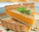 Тыквенный пирог с ореховой крошкой