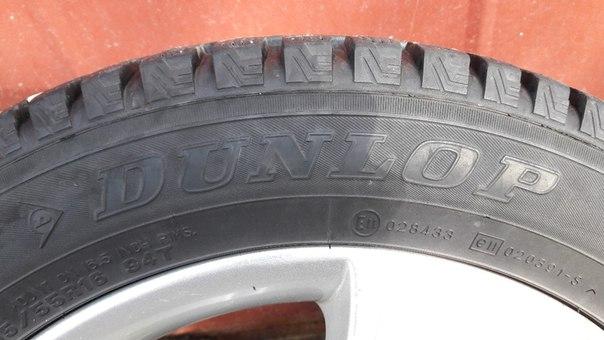 Зимние шины DUNLOP SP WINTER ICE 01 205/55 R16 Без грыж,порезов и лато