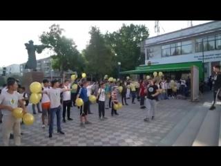«Street workout», XIII Legion және Шымкент қаласының жастарымен бірге #GGG арнап кеш өткізді