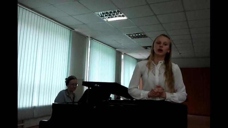 Песня Анюты из оперы Мельник-колдун,обманщик и сват Поёт Чухарева Валерия