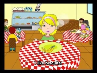 I like my Food song - English for Children Nursery Rhymes Songs - English lively songs and chants