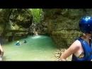 8 метровый прыжок в водопад