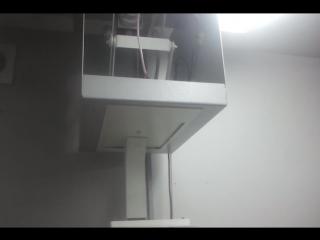 Моторизованное потолочное крепление видео камеры.