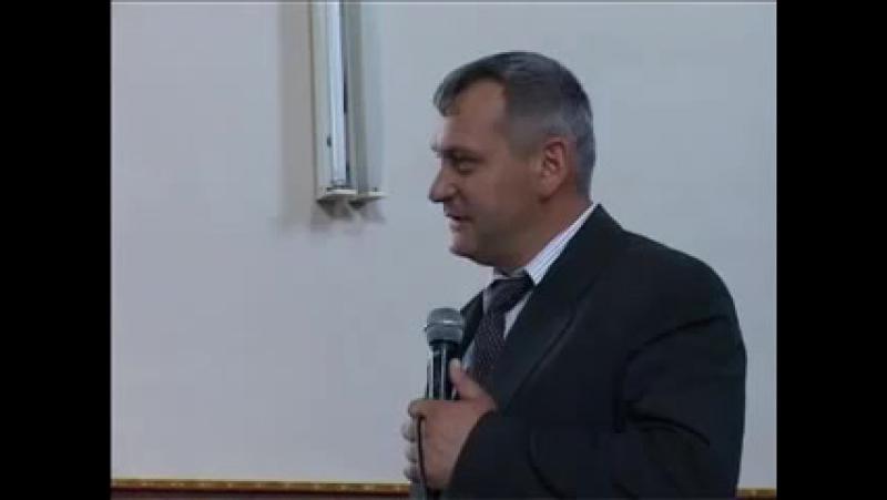 Олександр Попчук - семінар на тему Дари Духа Святого. частина 6. Духовні Дари.