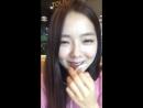170922 Stellar Hyoeuns IG live