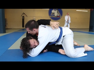 Kurt Osiander - Taking Full Guard Back from Half Guard