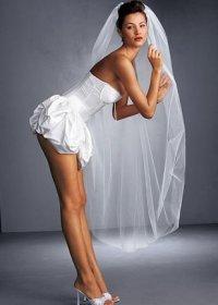 Свадебное платье секси
