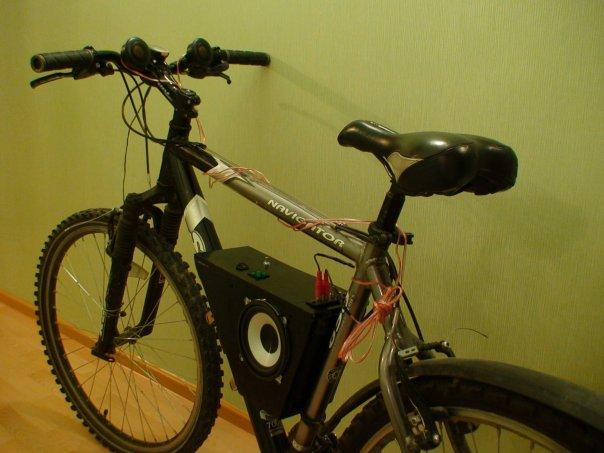 Акустика на велосипед