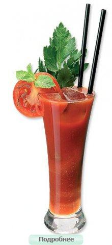 Состав коктейля Кровавая Мэри: 2 части водки 3 части томатного...