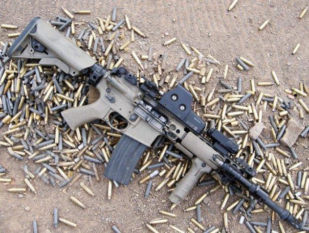 Сравнительный полевой тест AR-15 и АК
