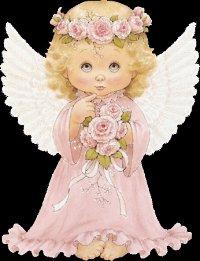 Блестящие ангелочки.
