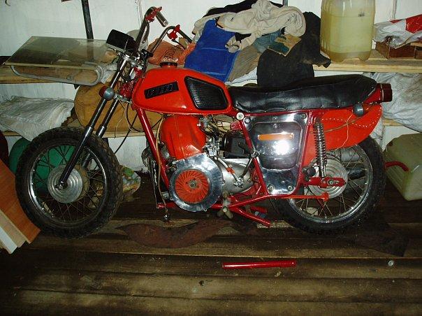 Тюнинг мотоциклов иж своими руками