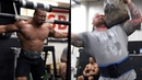 LARRYWHEELS STONES YOKE AND SQUATS WITH THE WORLDS STRONGEST MAN