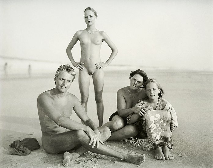 Family nudist portraits #14